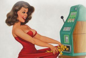 Ladies Play Australian Pokies